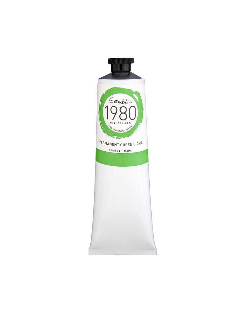 Gamblin 1980 Oil 150Ml Permanent Green Light