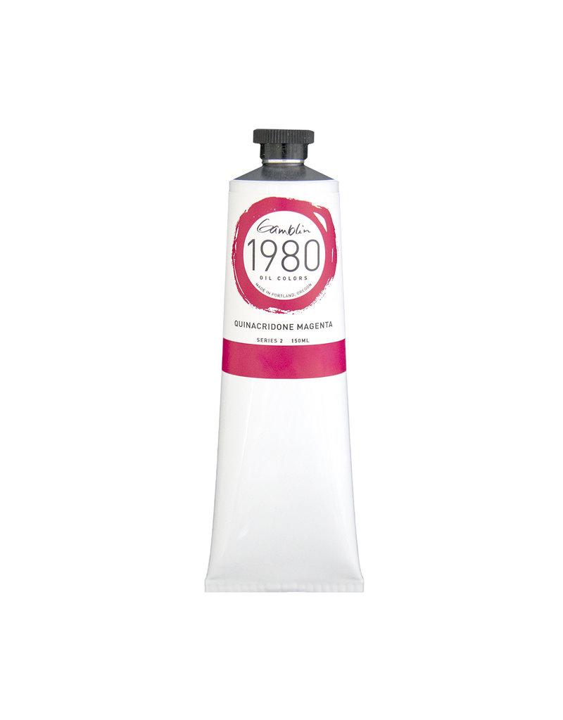 Gamblin 1980 Oil 150Ml Quinacridone Magenta