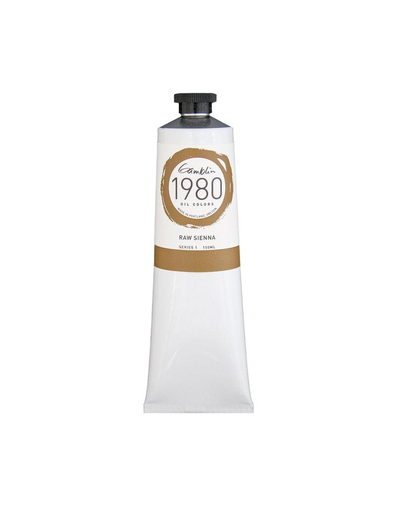 Gamblin 1980 Oil 150Ml Raw Sienna