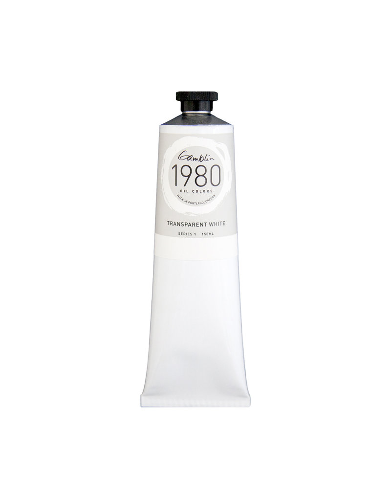 Gamblin 1980 Oil 150Ml Transparent White