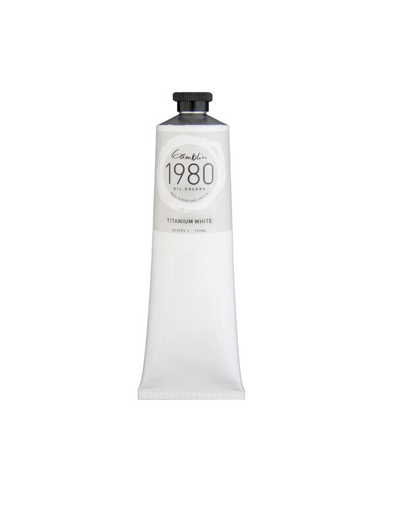 Gamblin 1980 Oil 150Ml Titanium White
