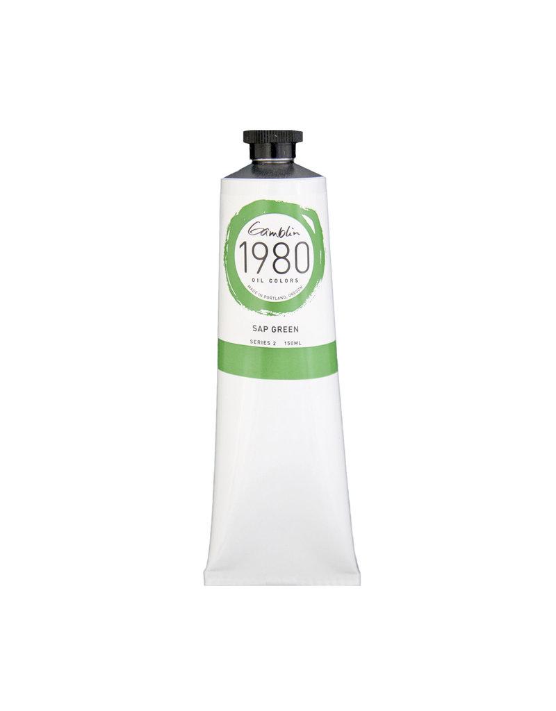Gamblin 1980 Oil 150Ml Sap Green