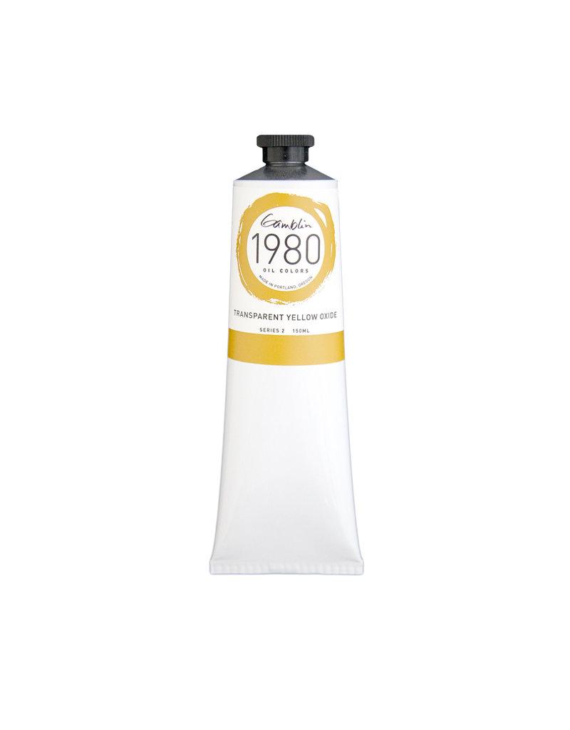 Gamblin 1980 Oil 150Ml Transparent Yellow Oxide