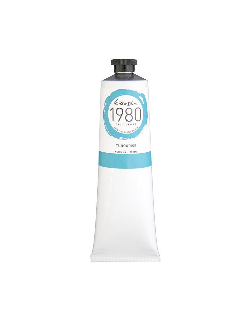 Gamblin 1980 Oil 150Ml Turquoise