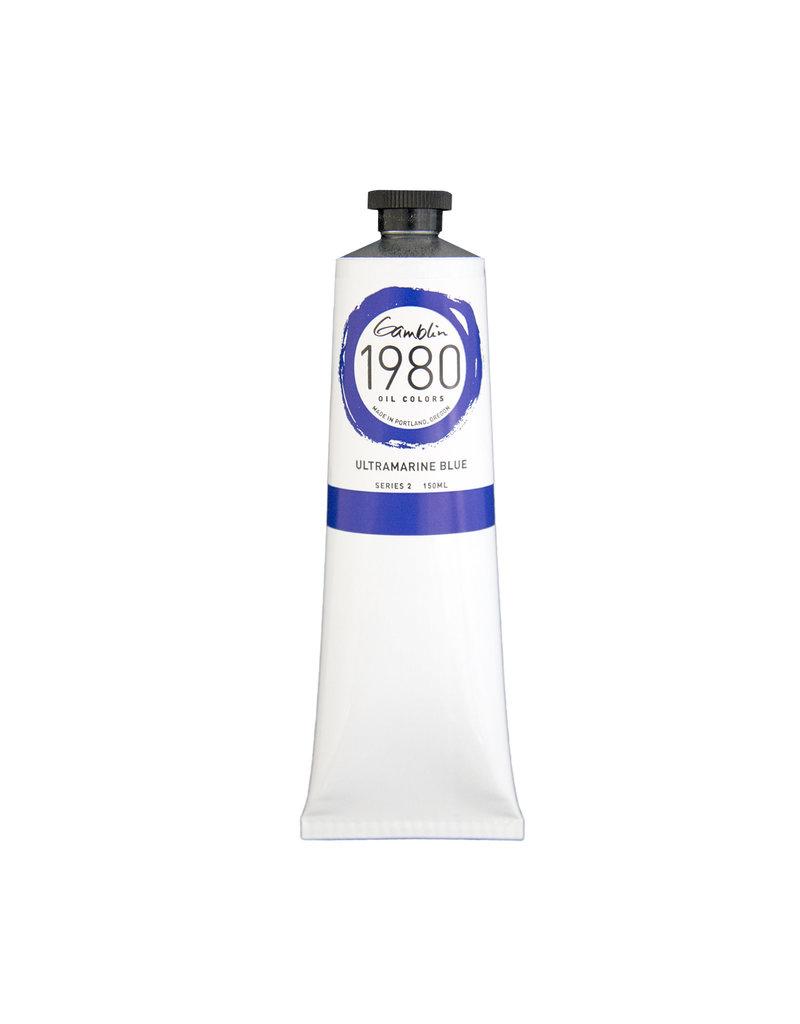 Gamblin 1980 Oil 150Ml Ultramarine Blue