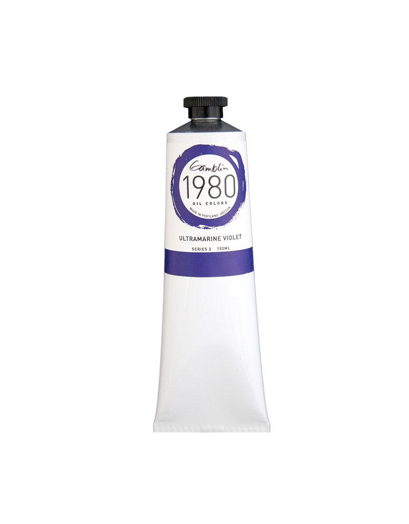 Gamblin 1980 Oil 150Ml Ultramarine Violet