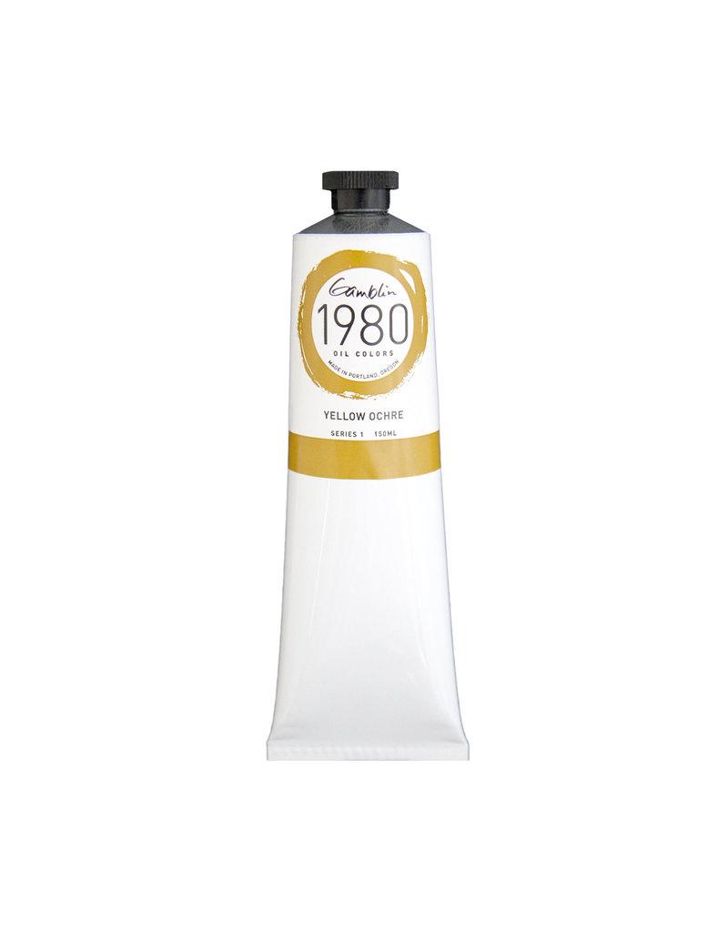 Gamblin 1980 Oil 150Ml Yellow Ochre
