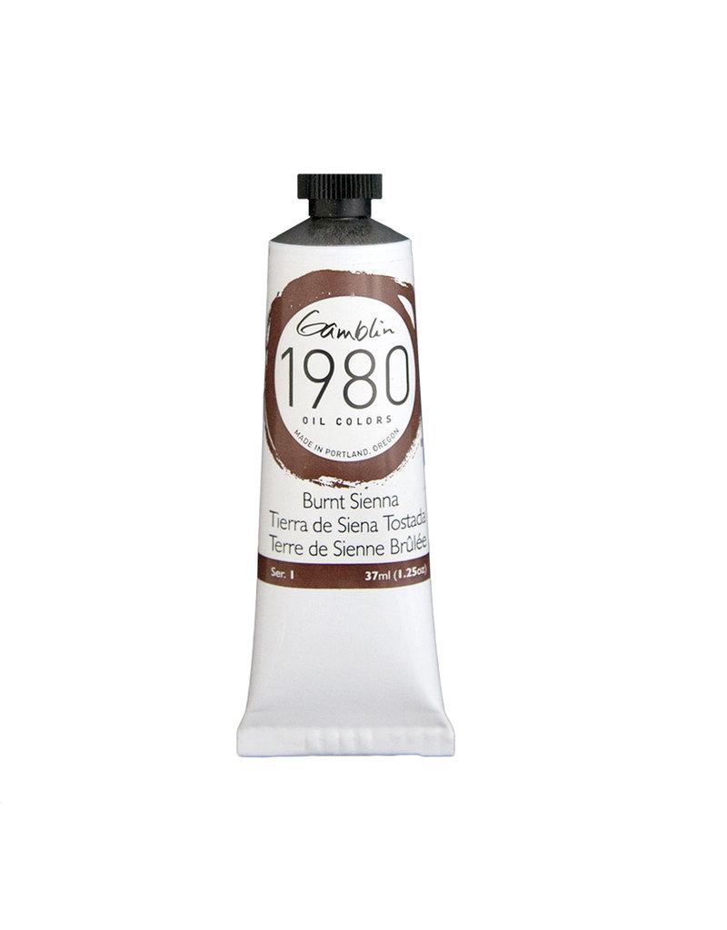 Gamblin 1980 Oil 37Ml Burnt Sienna