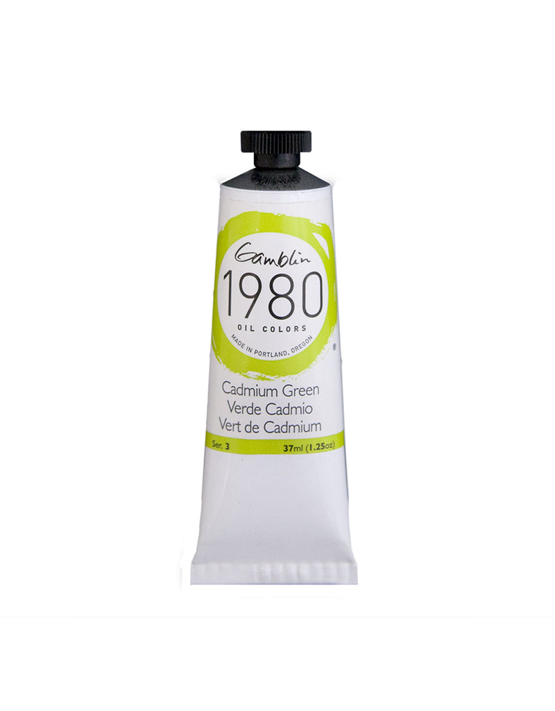 Gamblin 1980 Oil 37Ml Cadmium Green