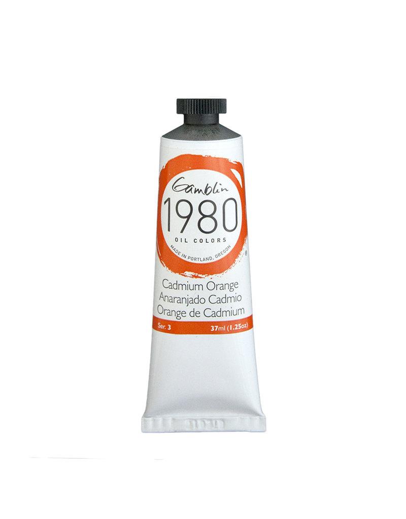 Gamblin 1980 Oil 37Ml Cadmium Orange