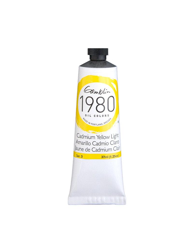 Gamblin 1980 Oil 37Ml Cadmium Yellow Light