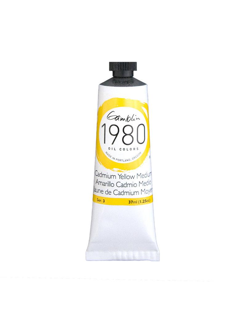 Gamblin 1980 Oil 37Ml Cadmium Yellow Medium
