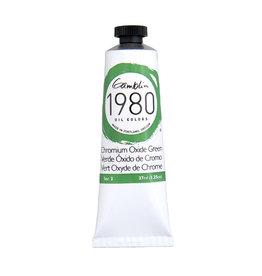 Gamblin 1980 Oil 37Ml Chromium Oxide Green