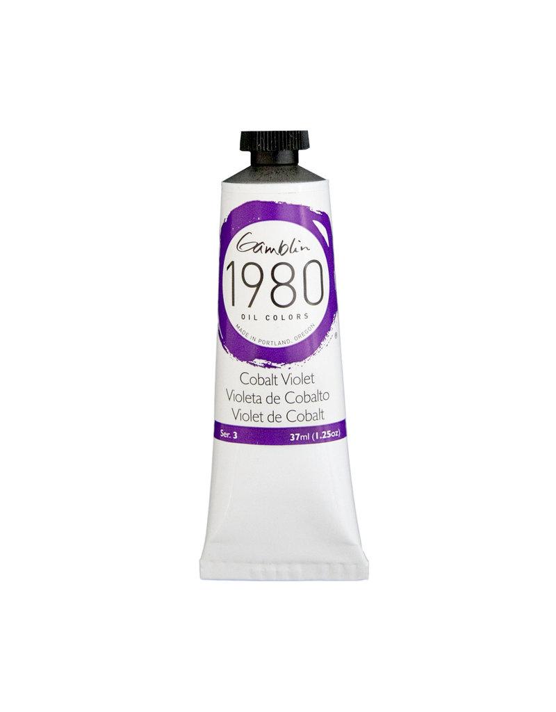 Gamblin 1980 Oil 37Ml Cobalt Violet