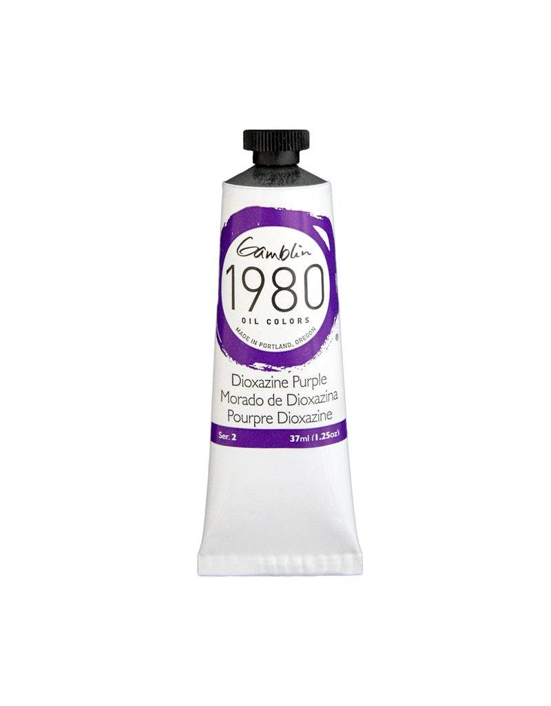 Gamblin 1980 Oil 37Ml Dioxazine Purple
