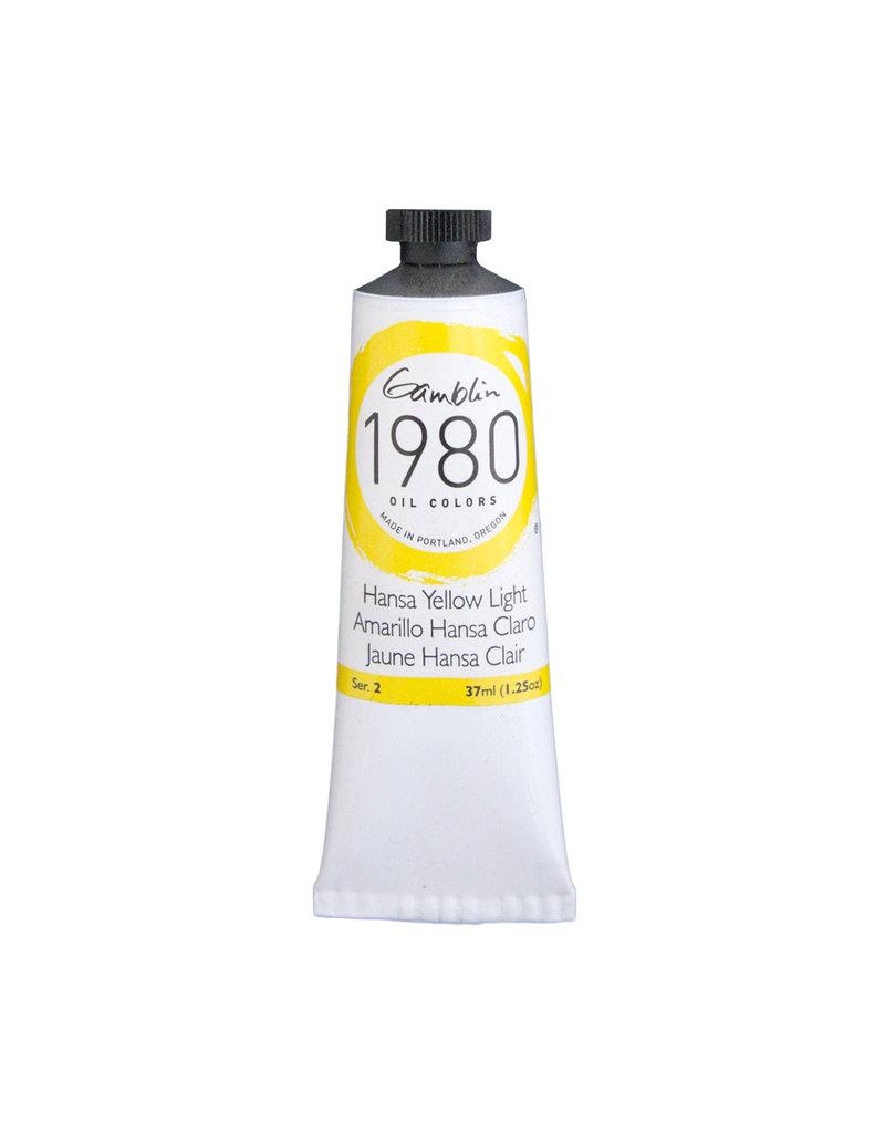 Gamblin 1980 Oil 37Ml Hansa Yellow Light