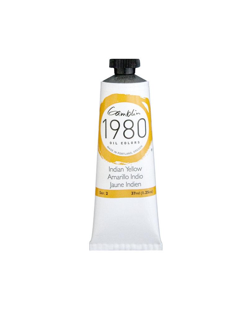 Gamblin 1980 Oil 37Ml Indian Yellow