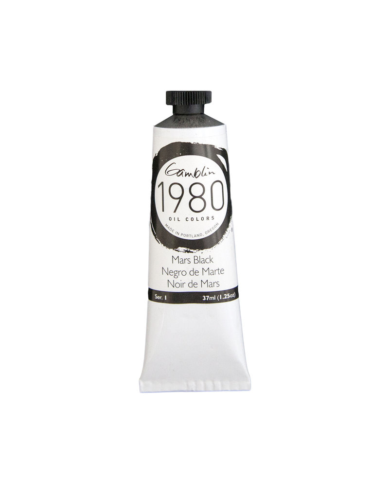 Gamblin 1980 Oil 37Ml Mars Black