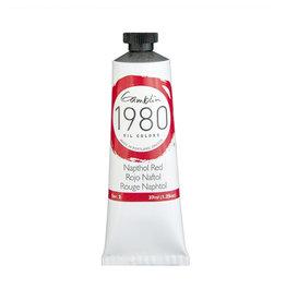 Gamblin 1980 Oil 37Ml Napthol Red