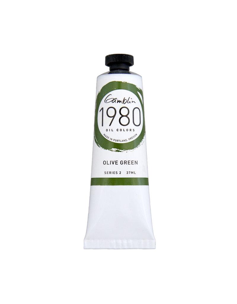 Gamblin 1980 Oil 37Ml Olive Green