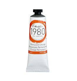 Gamblin 1980 Oil 37Ml Permanent Orange