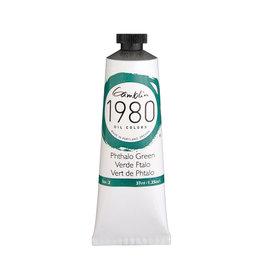 Gamblin 1980 Oil 37Ml Phthalo Green