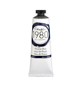 Gamblin 1980 Oil 37Ml Prussian Blue