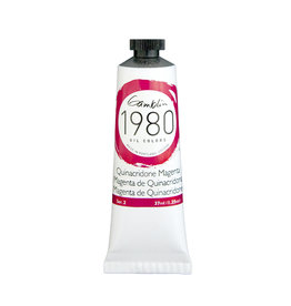 Gamblin 1980 Oil 37Ml Quinacridone Magenta