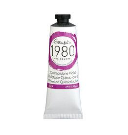 Gamblin 1980 Oil 37Ml Quinacridone Violet