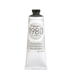 Gamblin 1980 Oil 37Ml Titanium White