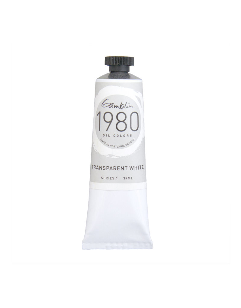 Gamblin 1980 Oil 37Ml Transparent White