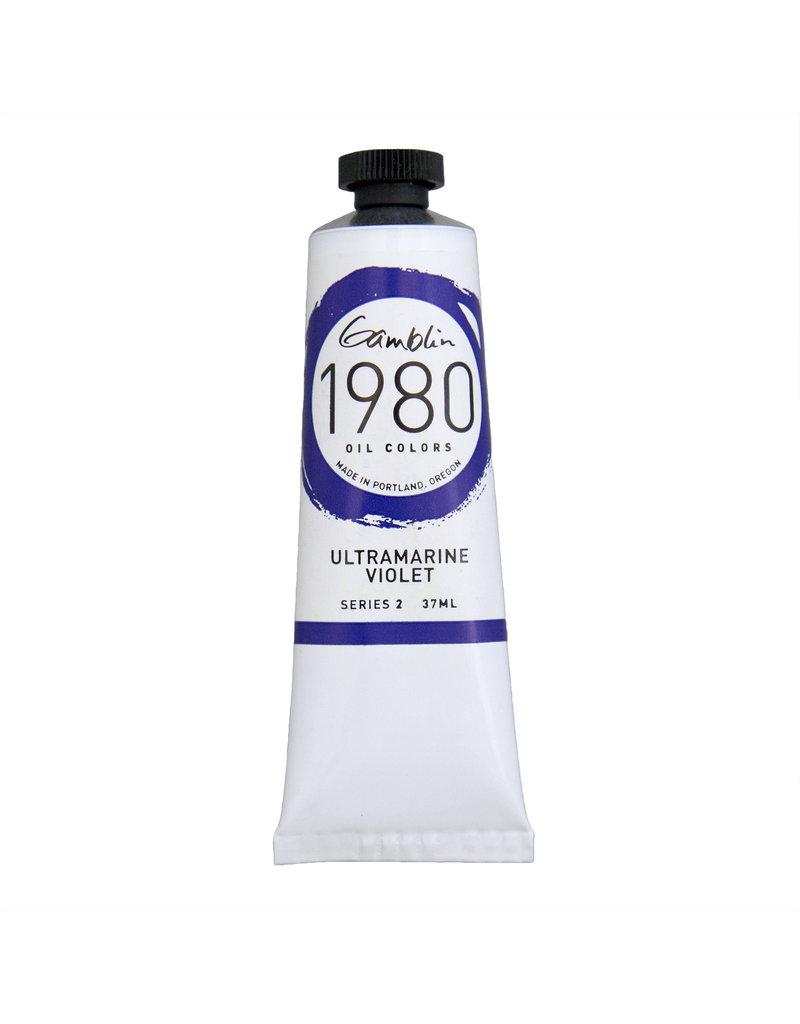 Gamblin 1980 Oil 37Ml Ultramarine Violet