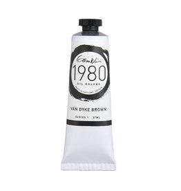 Gamblin 1980 Oil 37Ml Van Dyke Brown