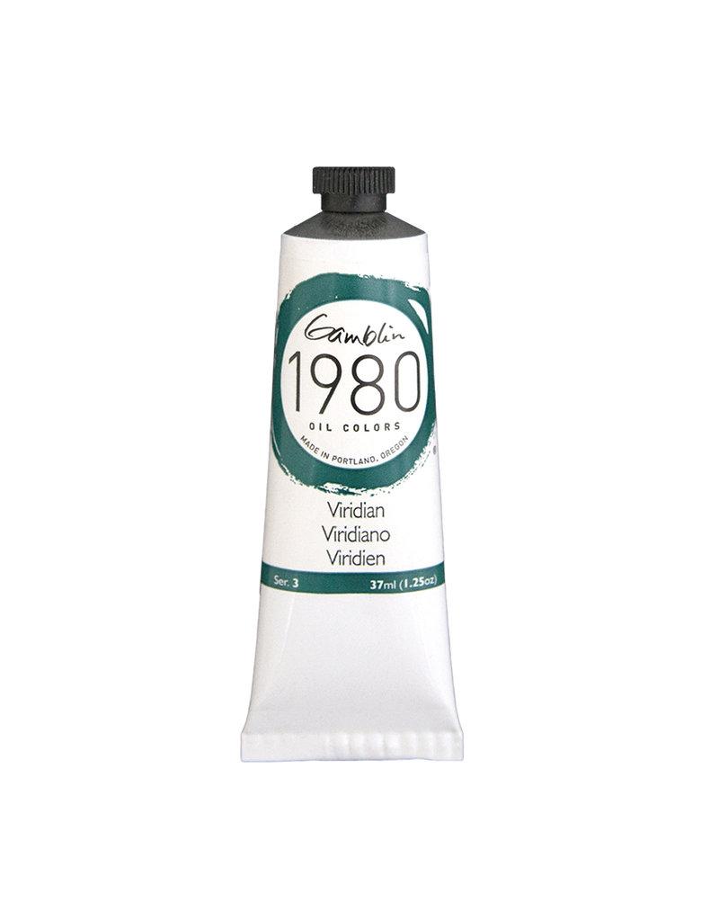 Gamblin 1980 Oil 37Ml Viridian