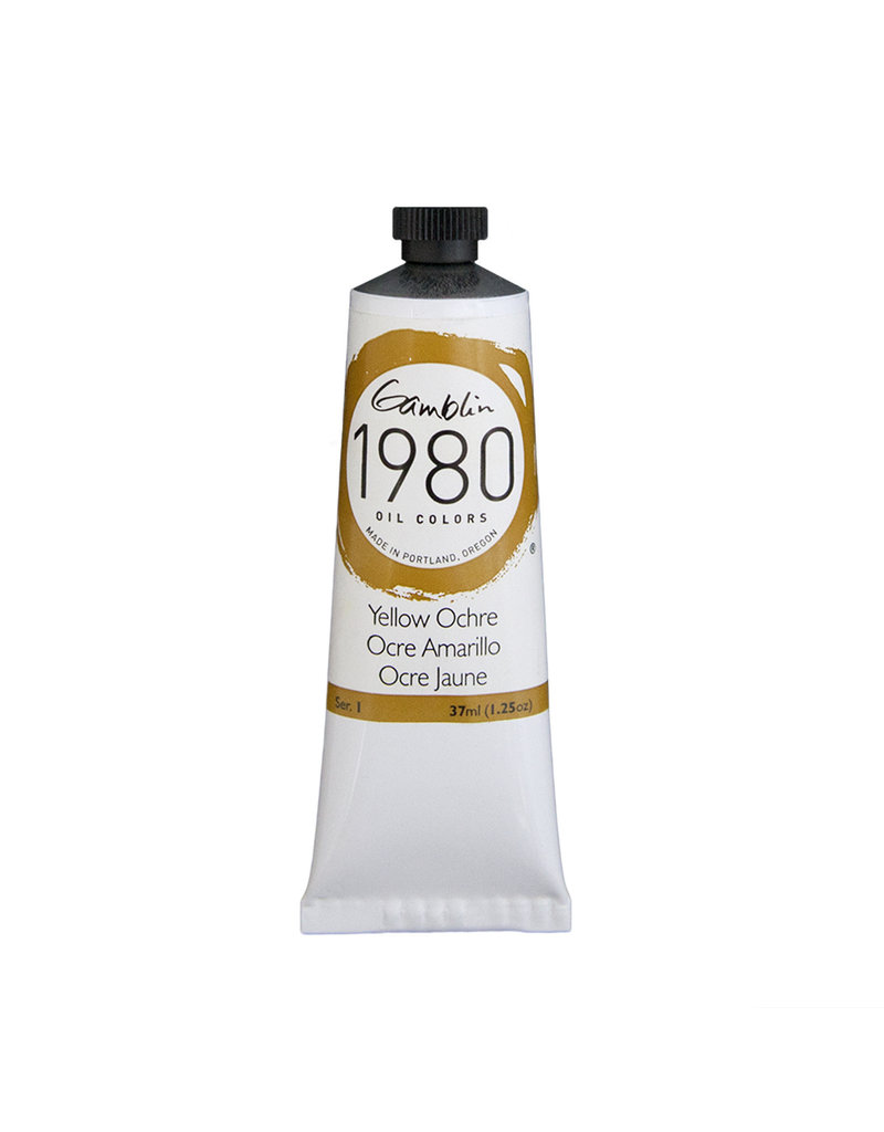 Gamblin 1980 Oil 37Ml Yellow Ochre