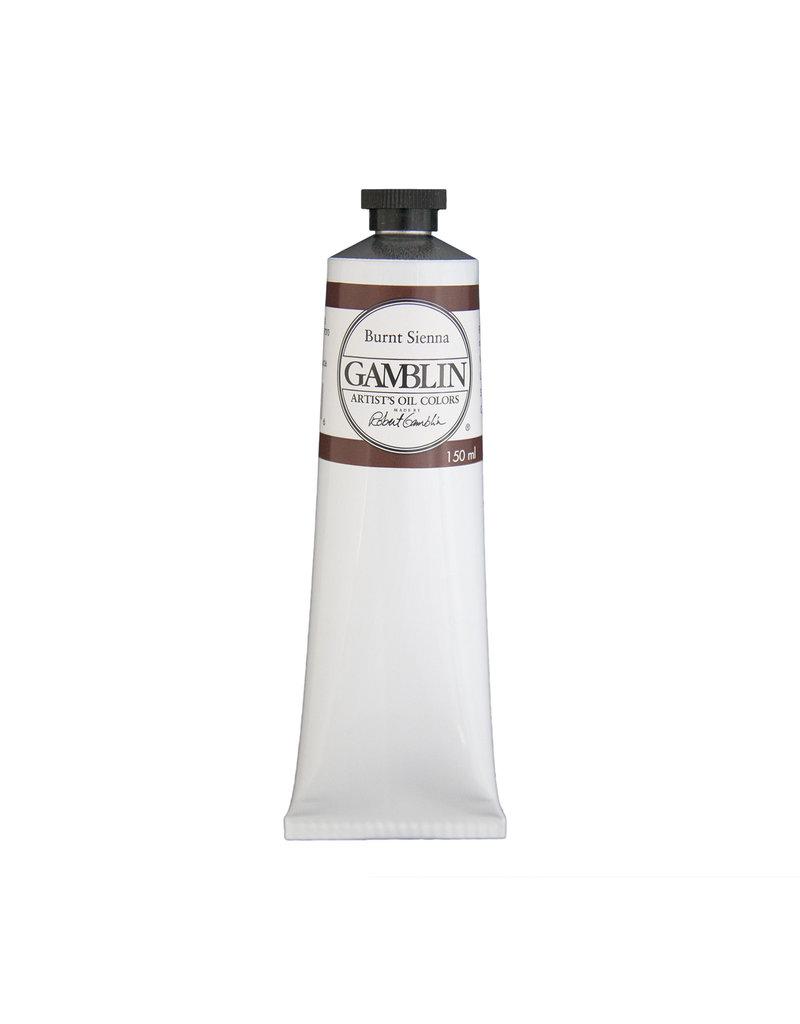 Gamblin Art Oil 150Ml Burnt Sienna