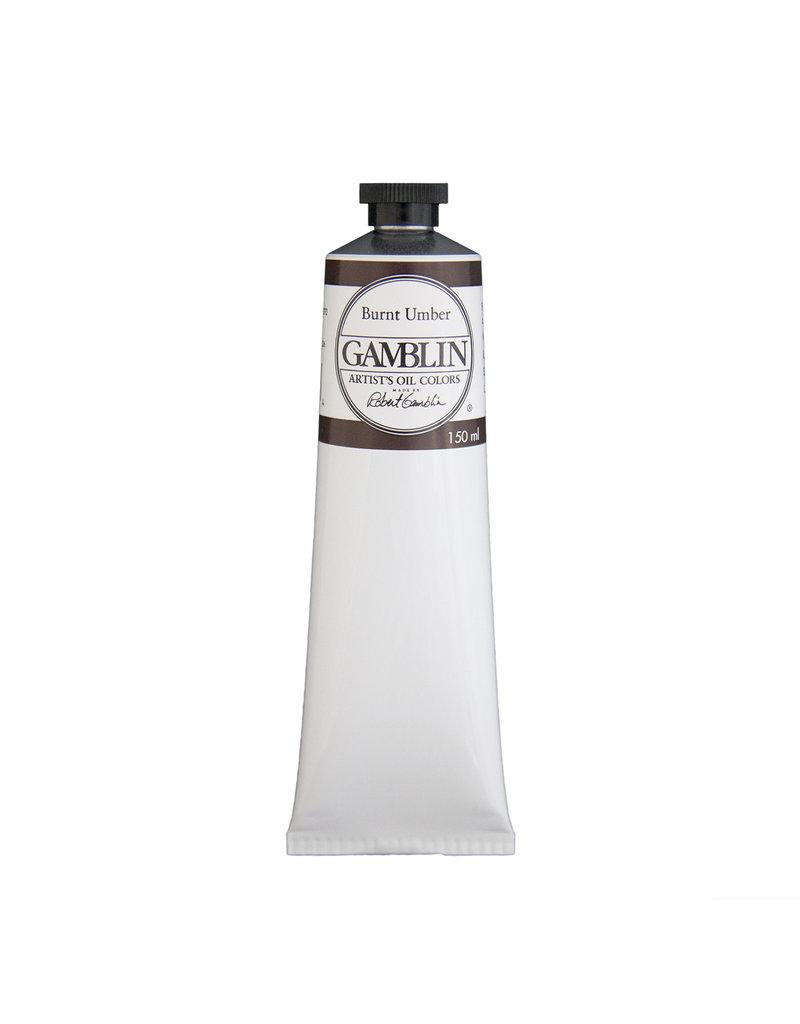 Gamblin Art Oil 150Ml Burnt Umber