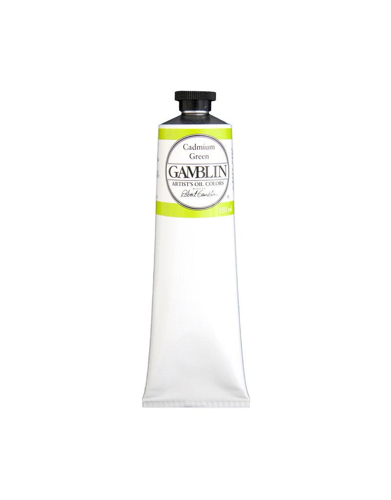 Gamblin Art Oil 150Ml Cadmium Green