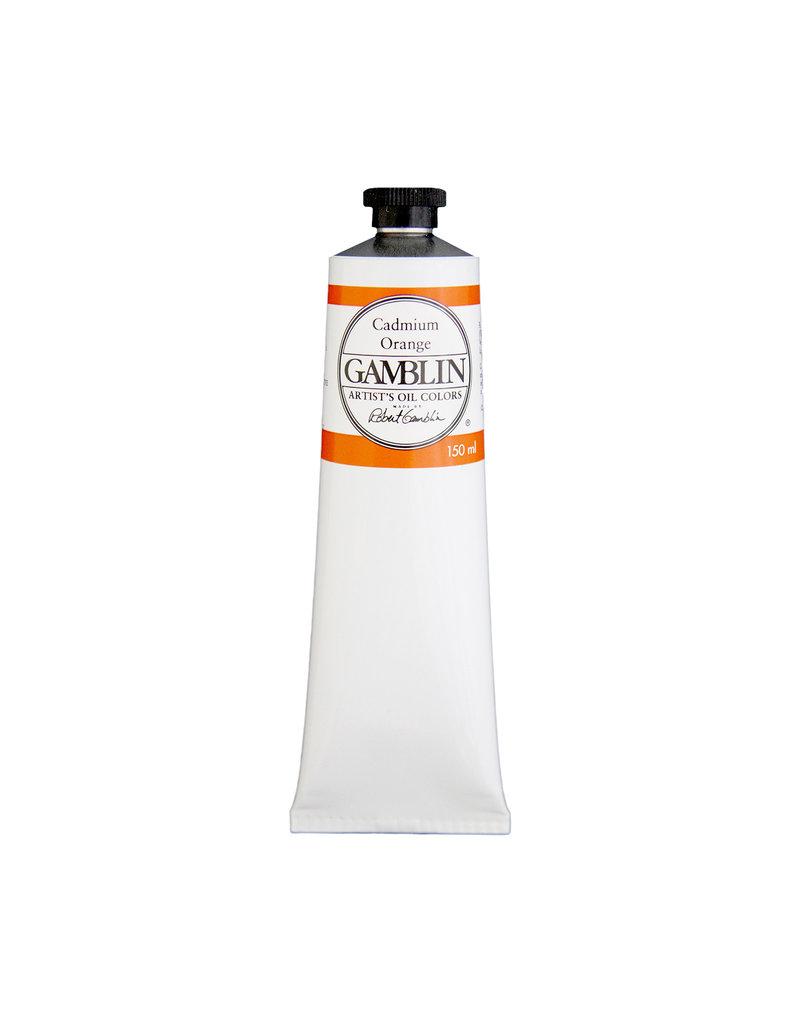 Gamblin Art Oil 150Ml Cadmium Orange