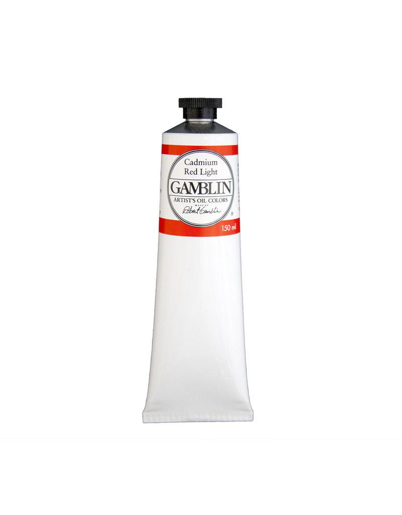 Gamblin Art Oil 150Ml Cadmium Red Light