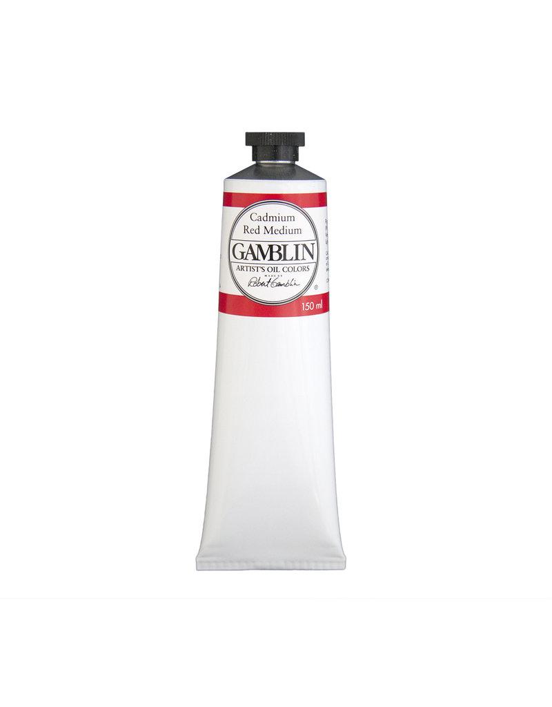 Gamblin Art Oil 150Ml Cadmium Red Medium