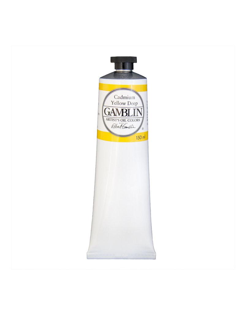 Gamblin Art Oil 150Ml Cadmium Yellow Deep