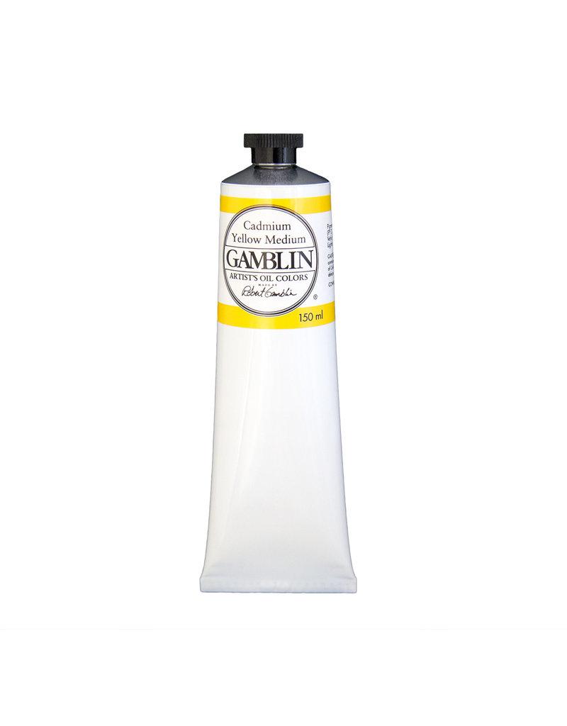 Gamblin Art Oil 150Ml Cadmium Yellow Medium