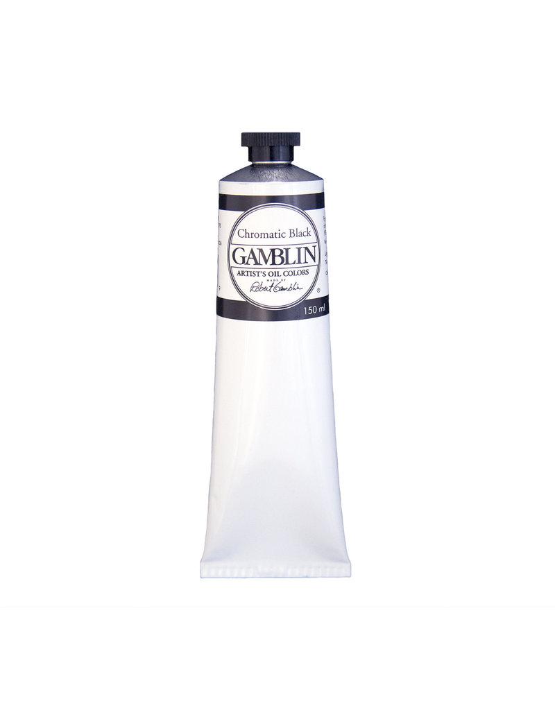 Gamblin Art Oil 150Ml Chromatic Black