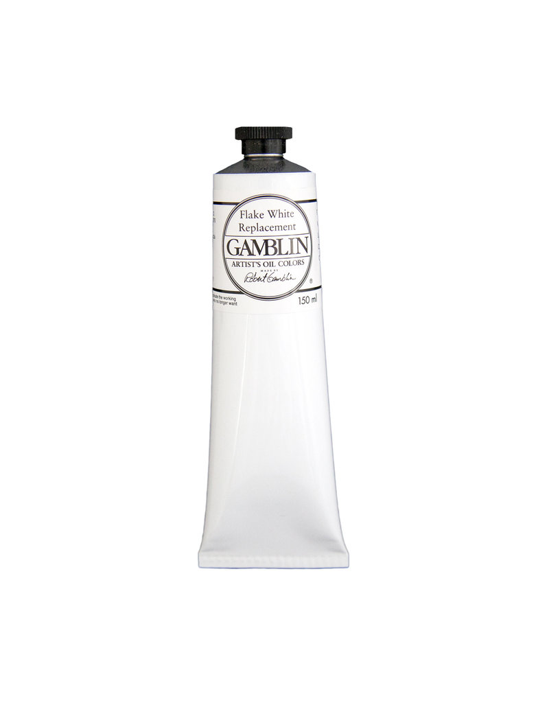 Gamblin Art Oil 150Ml Flake White Replacement