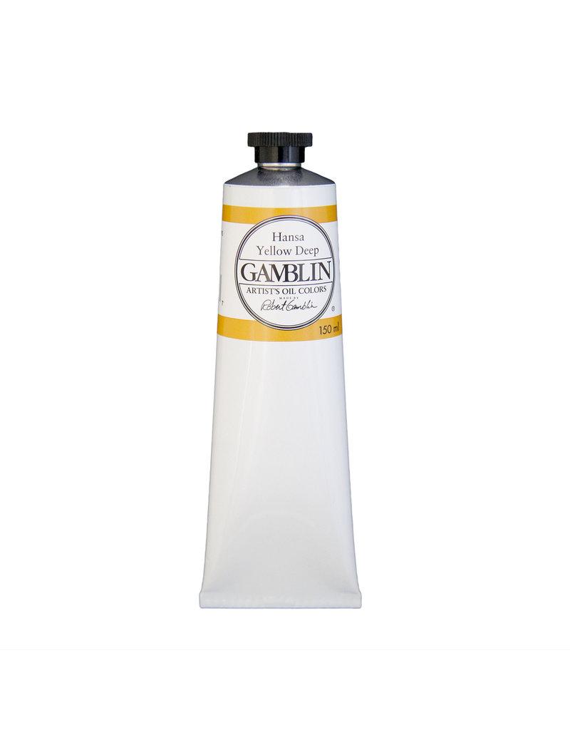 Gamblin Art Oil 150Ml Hansa Yellow Deep