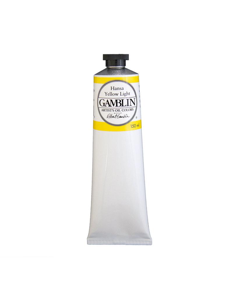 Gamblin Art Oil 150Ml Hansa Yellow Light