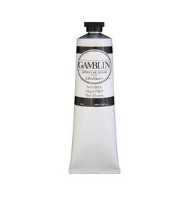 Gamblin Art Oil 150Ml Ivory Black