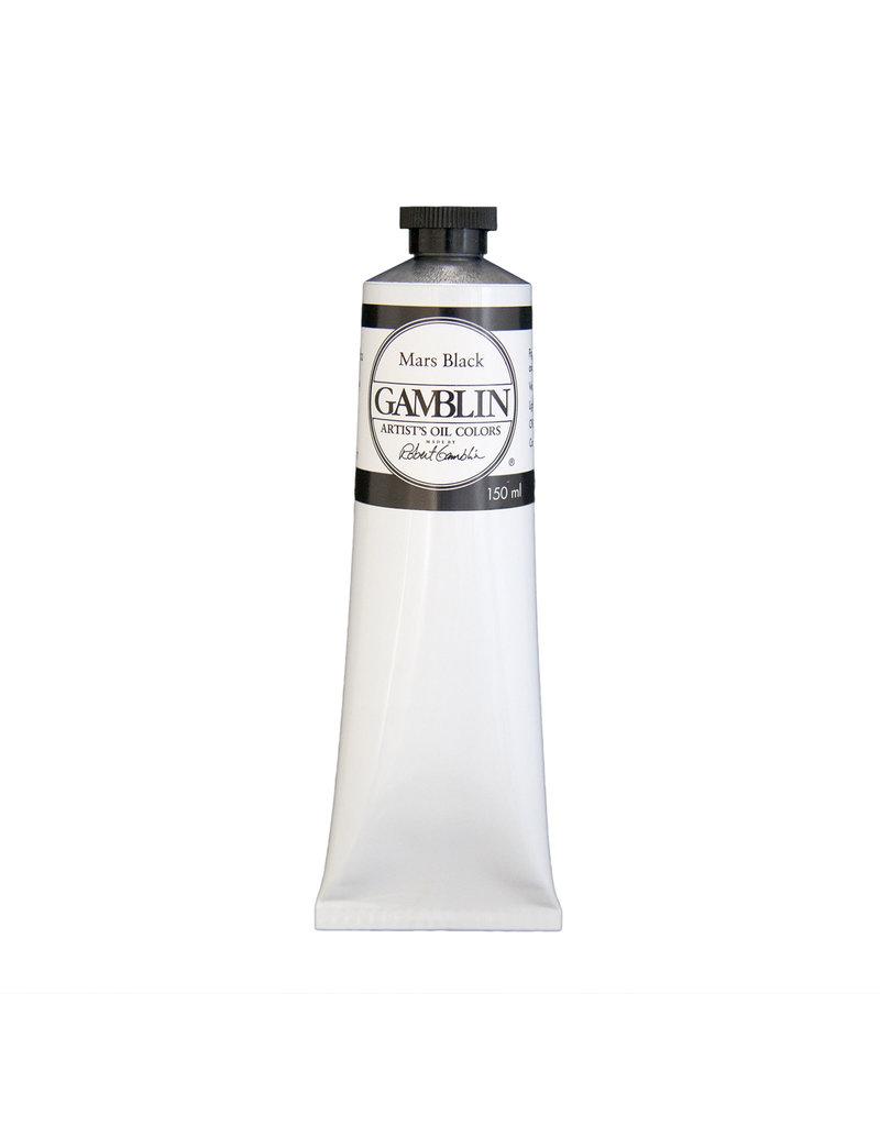 Gamblin Art Oil 150Ml Mars Black