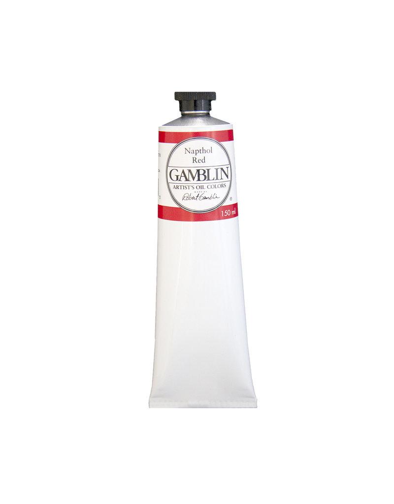 Gamblin Art Oil 150Ml Napthol Red